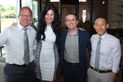 John Scheef, owner of Scheef & Stone LLP, Jennifer Sheehan, owner of The Best in Collin County Magazine, Matt Richardson MD, owner of Texas Facial Aesthetics, Martin Pak DDS, owner of Stonelake Family Dentistry