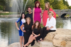 Luane McWhorter, owner of the Grand Spa, Paula Salter, owner of Home Market Interiors, Tracey Eidson owner of Camp Bow Wow, Suzette's Odom, owner of Suzette's Drapery, Carmine LiDestri, owner of Visual Image Photography & Videography, Jennifer Sheehan, owner of The BEST in Collin County Magazine.
